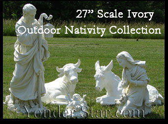 Outdoor Nativity Josephs Studio