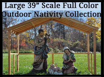 Large Josephs Studio Nativity Outdoor