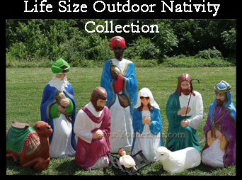 Life Size Nativity Set